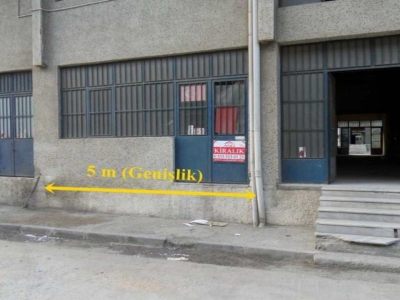 45+45 Dubleks Saraçlar Sanayi Sitesinde Kiralık